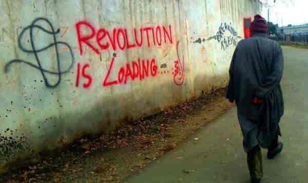 Kashmir graffiti