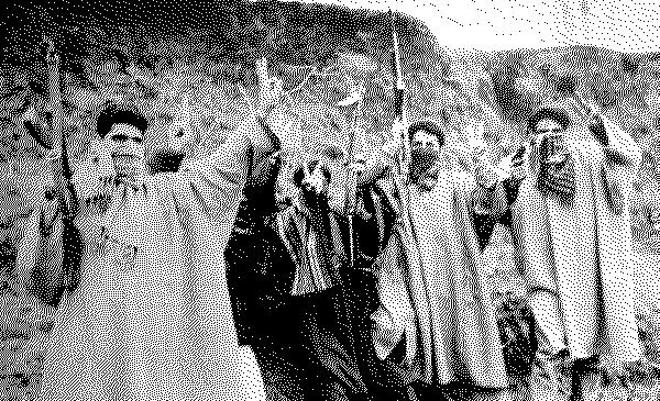 Kashmiri militants in 1990s. Photograph by Mehraj ud Din