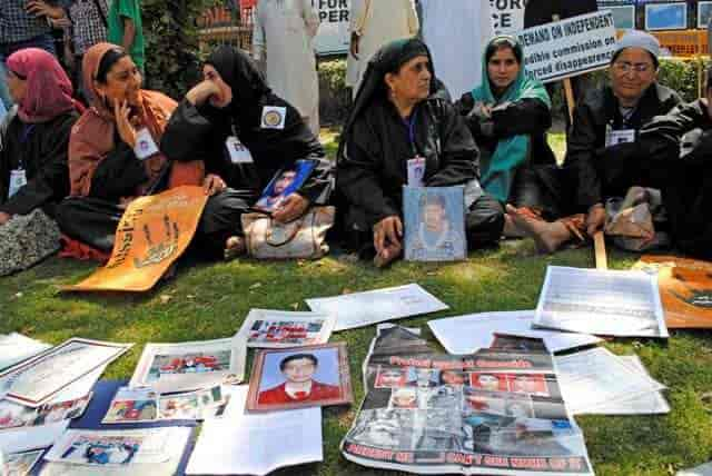 """""""Every year The International Day of the Disappeared is celebrated on August 30 to draw attention to the fate of individuals imprisoned at places and under poor conditions unknown to their relatives and/or legal representatives."""""""