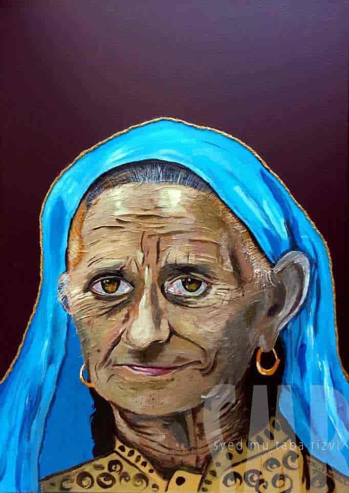 Shahmali Begum : Mother of Maqbool Bhat.