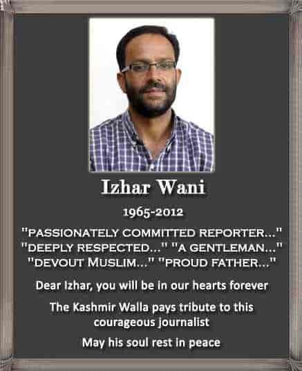 Izhar Wani | 1965-2012