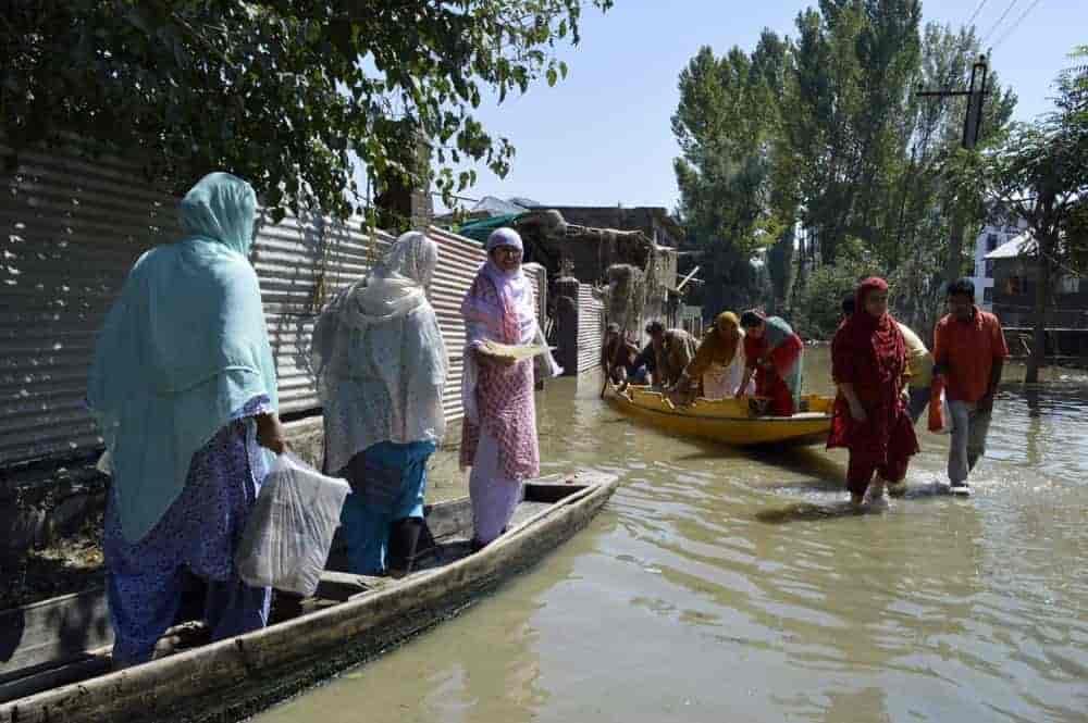 Kashmir Floods, Kashmir, Srinagar, Muhabit