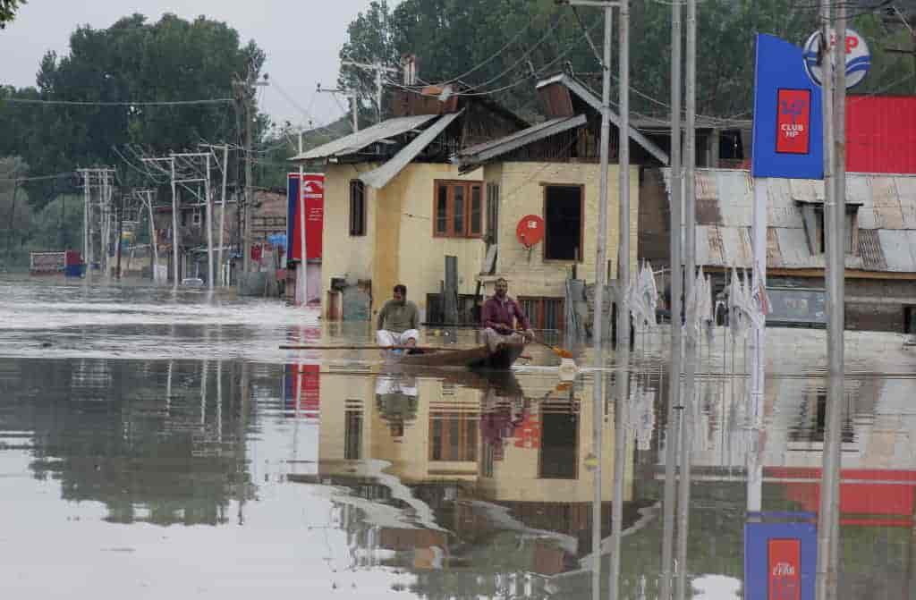 Kashmr floods