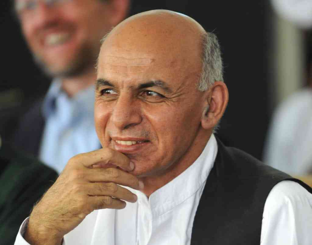 Dr. Ashraf Ghani attends a meeting with Governor Karim in Panjshir Province, Afghanistan on Tuesday, July 5, 2011. (S.K. Vemmer/Department of State)