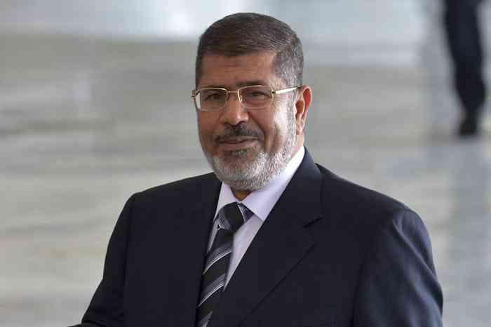 Former Egypt President, Mohamed Morsi
