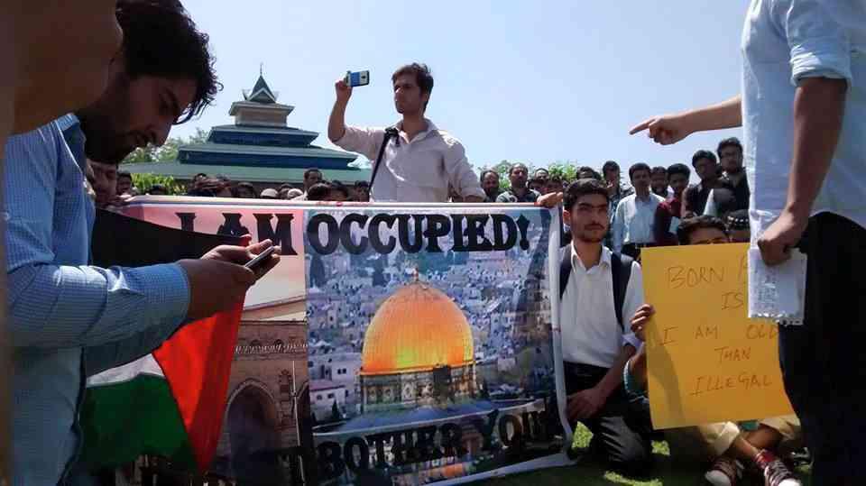 nakba day, kashmir, palestine
