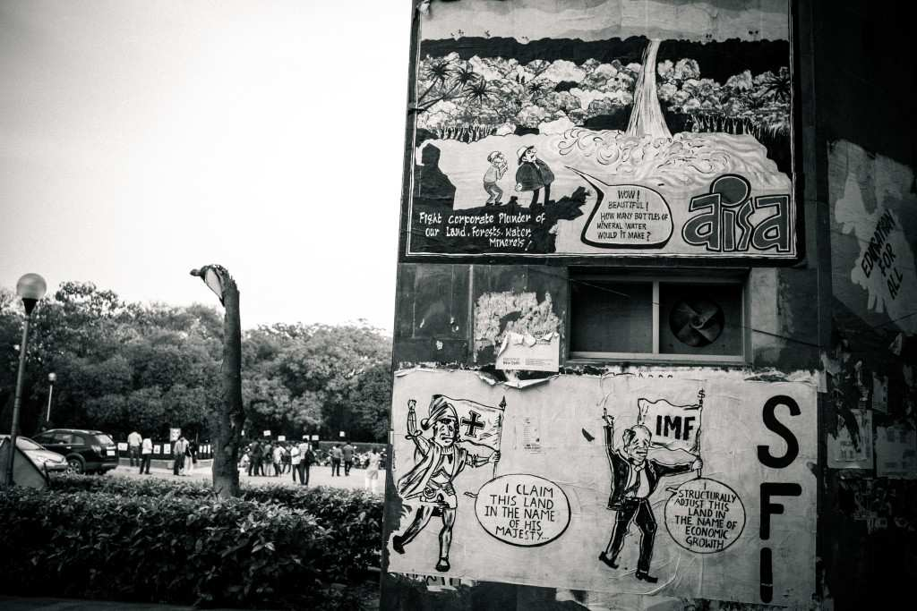 JNU graffiti