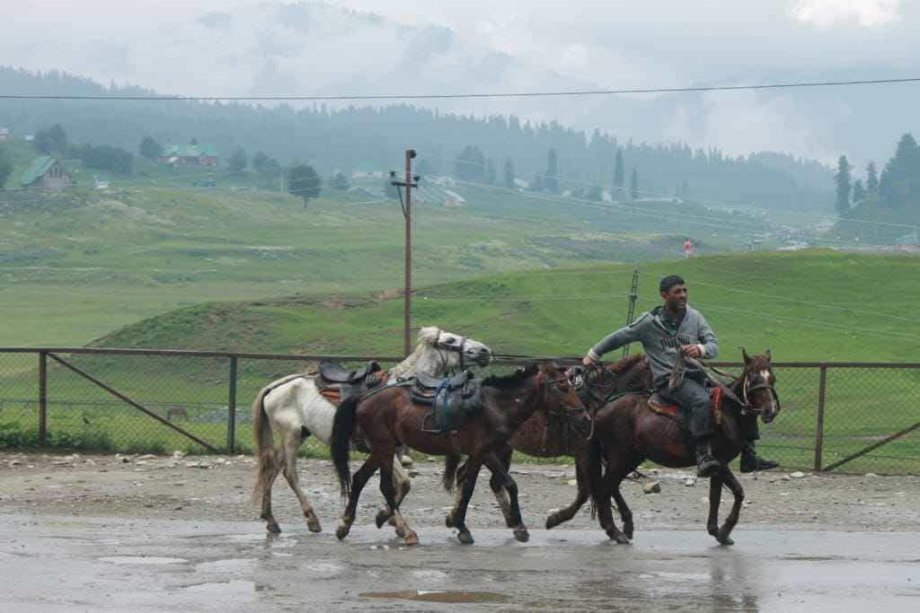 Chulbul Pandeys in Gulmarg. Photographs by Parikshit Jhunjhunwala