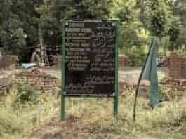 Burhan Wani's grave in Tral, a few meters away from his home. Photograph by Vikar Syed