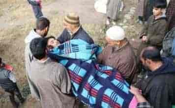 shopian youth shot dead,