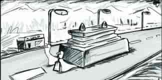 Accident illustration anis wani