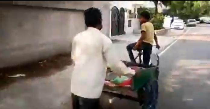 muslim vegetable vendor, bjp muslims threat