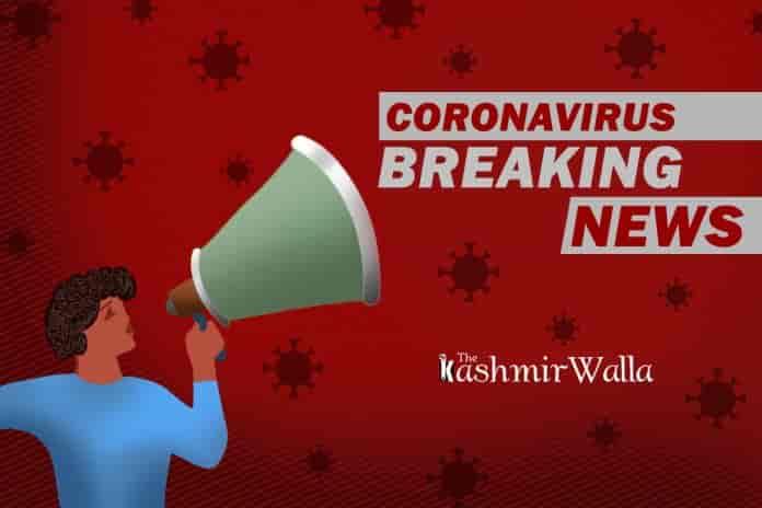 covid kashmir, coronavirus news, coronavirus breaking enws