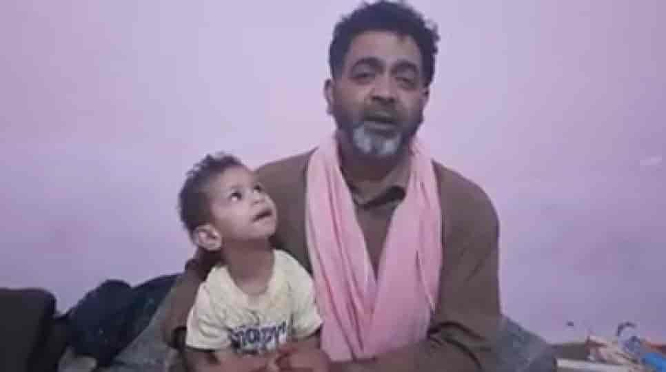Kashmiri man, covid19, delhi