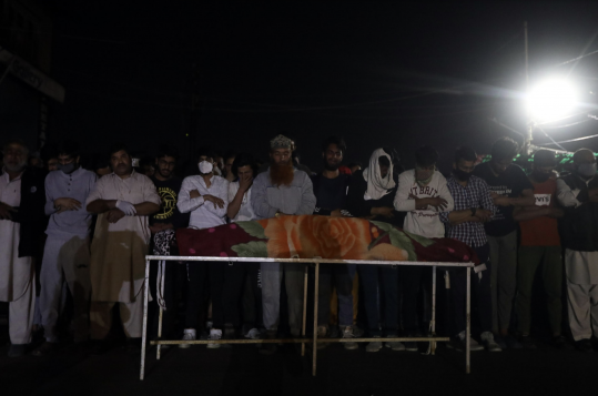 Nawa Kadal boy funeral