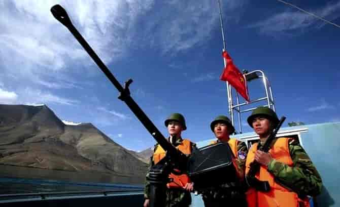 China military standoff escalates at eastern Laddakh